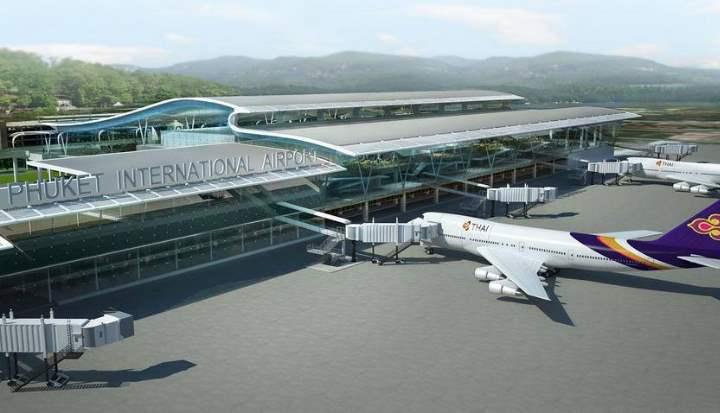 Терминал в Таиланде