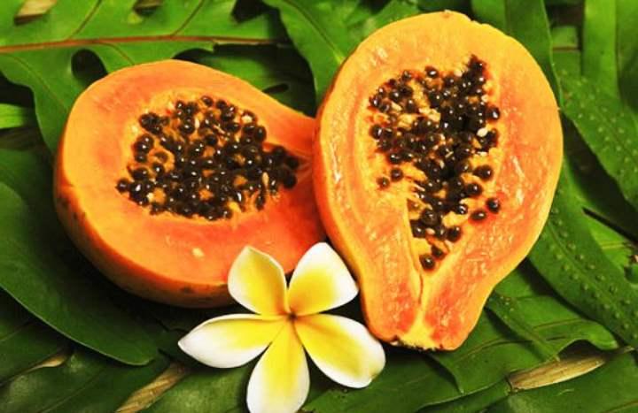 Экзотический фрукт - Папайа