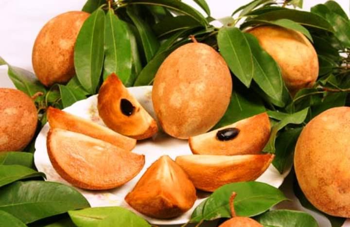 Экзотический фрукт - Саподилла