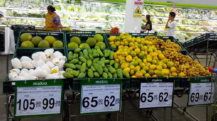 Овощи в Тайланде