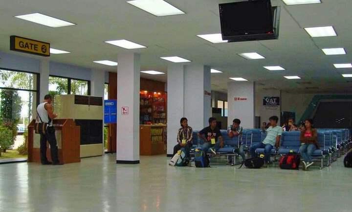 Внутренний вид аэропорта Утапао