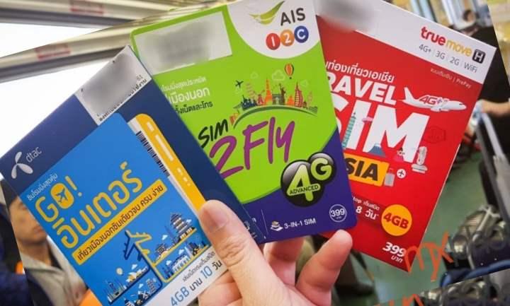 Пакеты для звонков из Тая