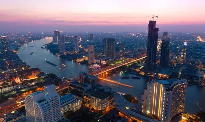 Высотки столицы Тайланда
