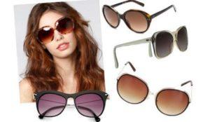 Девушка и очки