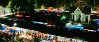 Рынок ночью на Пхукете