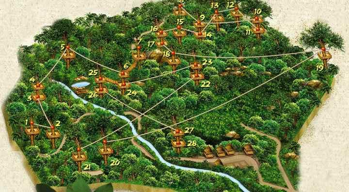 Карта аттракциона
