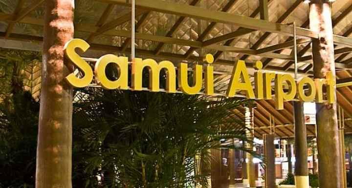 Расположение аэропорта в Самуи достаточно удобное