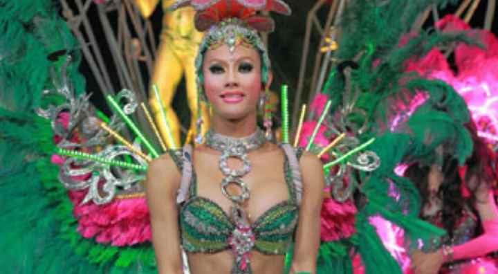 Танцовщица-бабочка