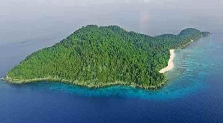 Конфигурация острова