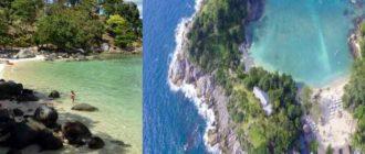 На Paradise Beach большое разнообразие характерной для тропиков растительности