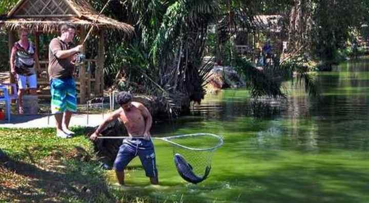 Очень распространена морская рыбная ловля на островах Рача Яй
