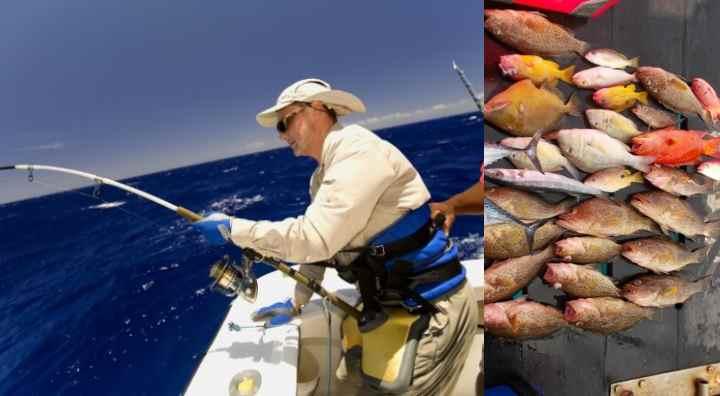 Дневная рыбная ловля в море на Пхукете - с восьми утра до пяти часов вечера.