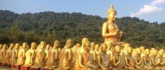 Всего в Таиланде существует примерно 32000 буддийских храмов
