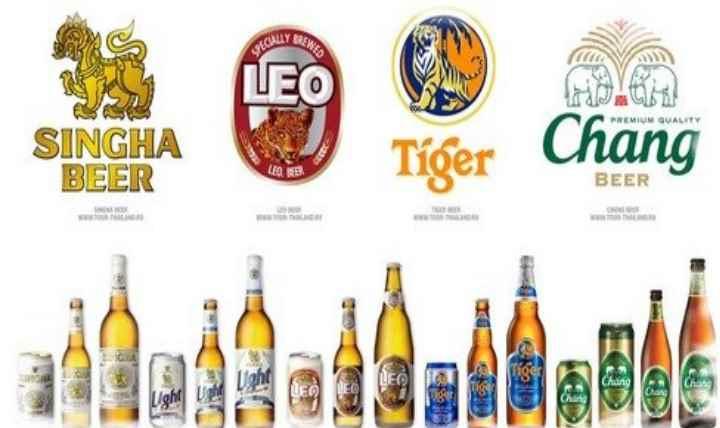 Одна из самых дорогих и знаменитых марок тайского пива Singha
