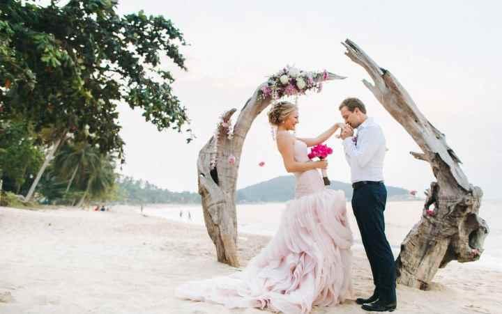 Выбрать для неофициальной церемонии бракосочетания можно любой из островов Тайланда