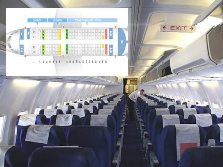 Как правило данные модификации салонов включают в себя три основных сектора для пассажиров