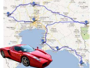 Цены на аренду бюджетного автомобиля в Бангкоке начинаются примерно от 1700 бат